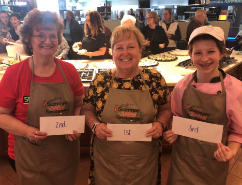 Joan Gerhardt of Saginaw captures first place at 2019 Summer Salad Spectacular