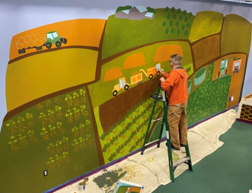 New mural at Mid-Michigan Children's Museum helps tell agriculture's story