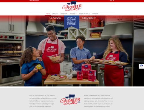 Michigan Sugar launches redesigned brand website at pioneersugar.com